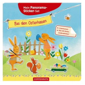 Panorama-Sticker Ostern