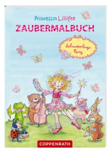 Prinzessin Lilli Zaubermalbuch Schmetterlings-Party
